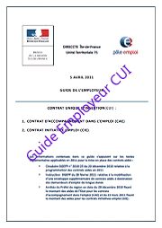 Guide employeur cui paris a