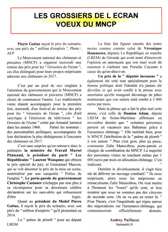 Les grossiers 1